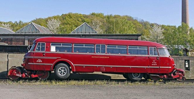 Schie-stra-bus, Deutsche Bundesbahn, 1950s