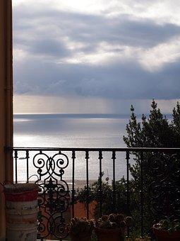 Naples, Capri, Italy, Water, Sea