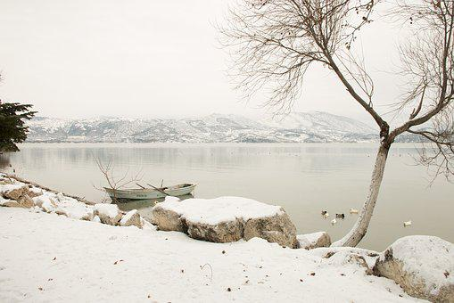 Snow, Landscape, Nature, Lake, Nature Turkey