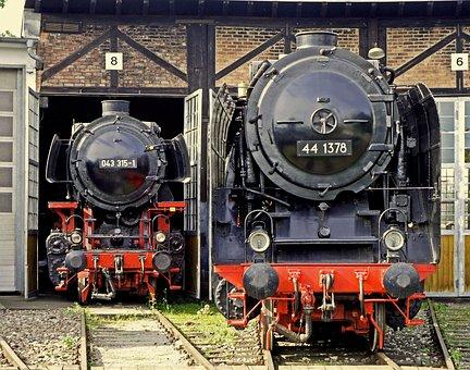 Steam Locomotive, Heavy Goods Train Locomotive, Br44