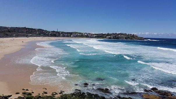Bondi Beach, Sydney, Nsw, Beach, Australia, Bondi