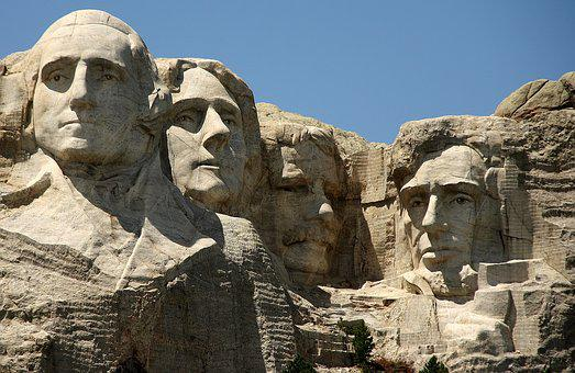 Mount Rushmore, Usa, Mountain, Monumental Building