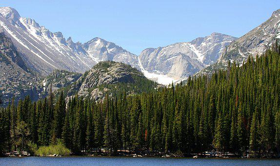 Rocky Mountains, Usa, Water, Mountain Summit, Mountains