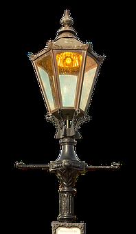 Street Lamp, Old, Antique, Lighting, Metal