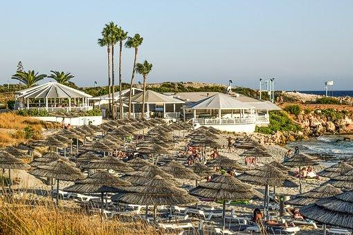 Cyprus, Ayia Napa, Nissi Beach, Beach, Summer, Island