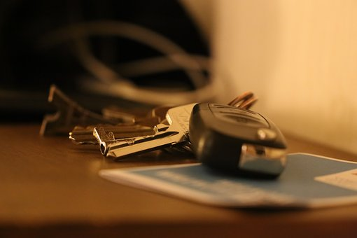 Car Key, Car Keys, Table, Key, Keys, Unlock, Door