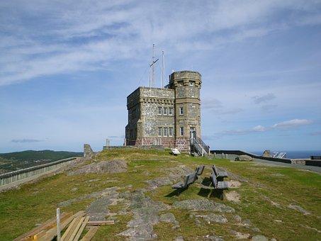 Castle, Bluffs, Landscape, Rock, Old, Scenic, Tower