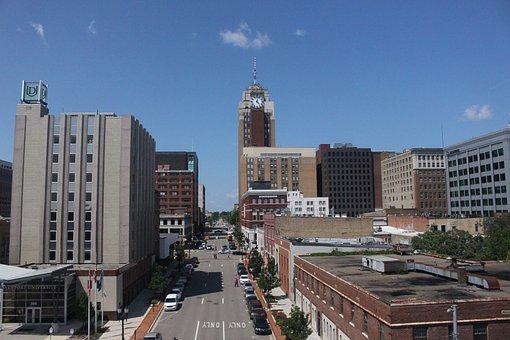 Buildings, Downtown, Sky, Architecture, Business, City