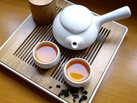 Chinese Tea, Drink, Beverage, Leaf, Dried, Asian