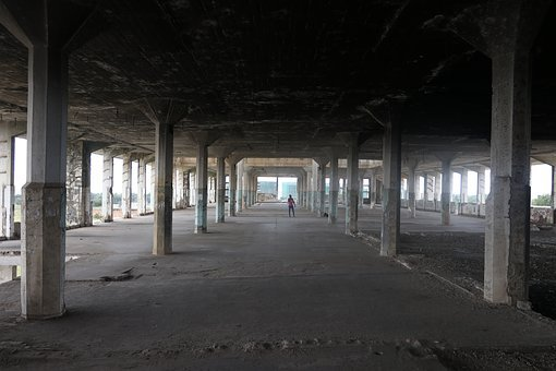 Abandoned, Empty, Building, Architecture, Old