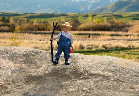 Farmer, Farm, Farming, Ranch, Agriculture, Rural