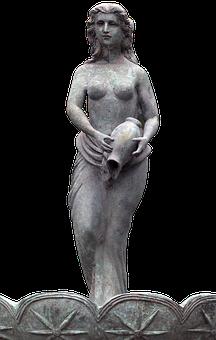 Manneken, Sculpture, Art Nouveau, Fountain, Statue