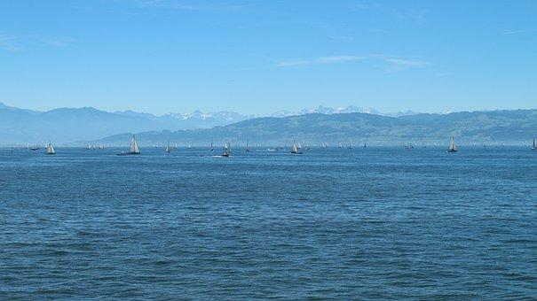 Lake Constance, Alpine, Panorama, Lake, Landscape