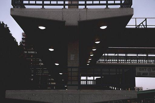 Bridge, Light, Enlighten, City, Architecture, Cityscape