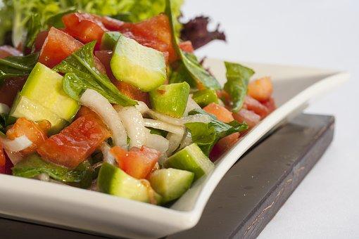Salad, Health, Diet, Vegetable, Food, Food Photo