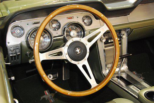 Oldtimer, Ford, Mustang, Automotive, Auto, Classic