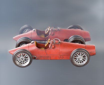Ferrari, Replica, Car, Toy, Vehicle, Automobile, Old