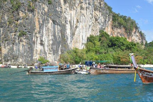 Thailand, Rocks, Sea