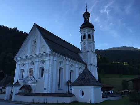 Chapel, Bavaria, Church, Architecture, Allgäu
