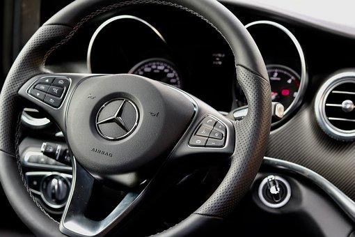 Steering Wheel, Auto, Drive, Automotive, Interior