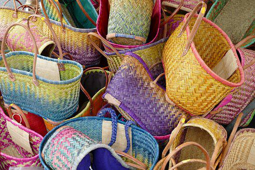 Basket, Bag, Shopping Bag, Wear, Mesh, Messages