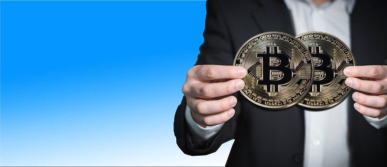 Hand, Man, Bitcoin, Keep, Present, Coin, Money