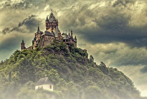 Castle, Cochem, Moses, Reichsburg Cochem, Middle Ages