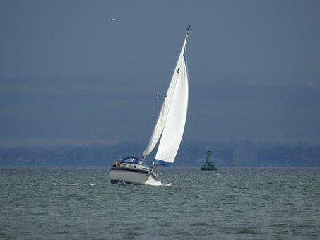 Sailboat, Sea, Holidays, Cruise, Rest, Landscape