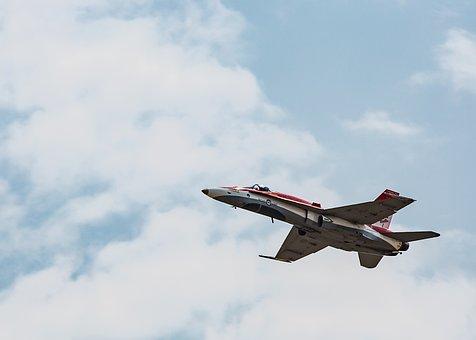 F18, Cf18, Air Show, Canada, Air Force, Fighter