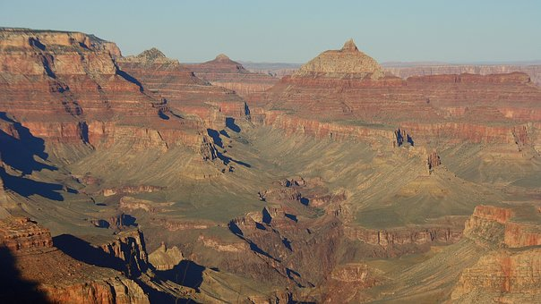 Usa, Grand Canyon, Canyon, Landscape, America
