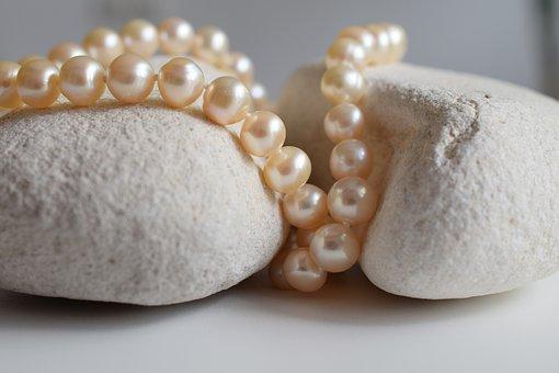 Pearls, Jewelry, Necklace, Shine, Beauty, Luxury