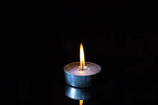 Candle, Lighted Candle, Flame, Light, Burn, Candlelight
