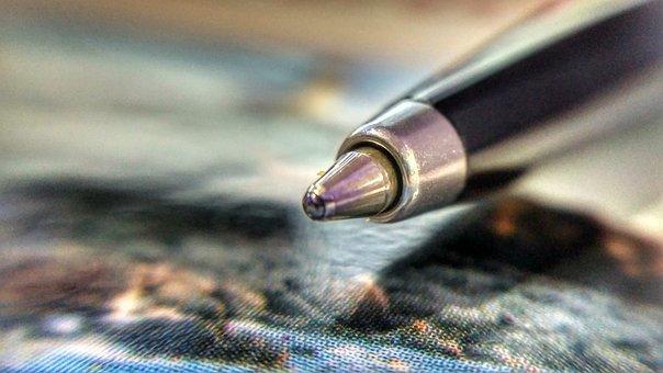 Pen, Macro, Office, Document, Sign, Writing, Job, Write