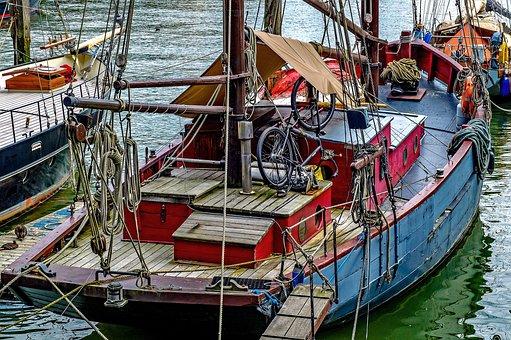 Boat, Ship, Sailboat, Harbour, Marine, Shipping