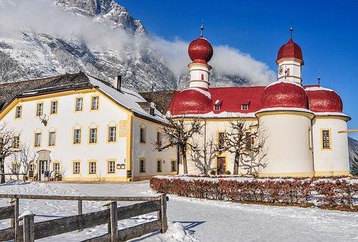 Monastery, Königssee, Bartholomä St