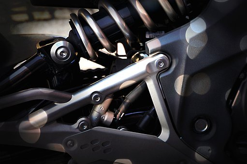 Motorcycle, Motor, Screw, View Details