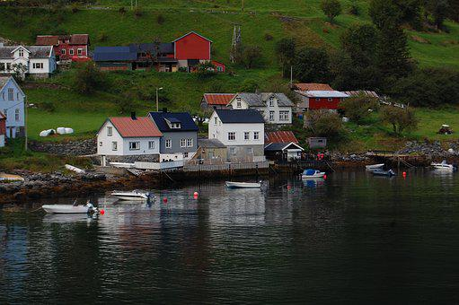 Norway, Fjord, Scandinavia, Landscape, Water, Boats