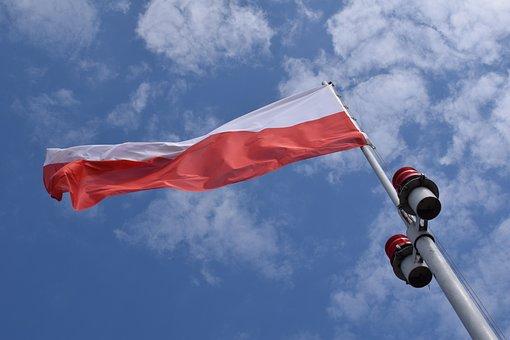 Poland, Flag, Banner, Polish, Country, Nation
