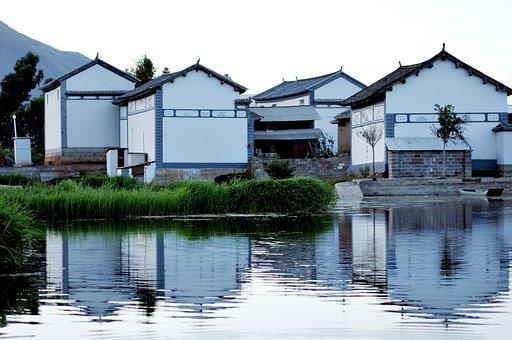 Houses, Reflection, Quiet