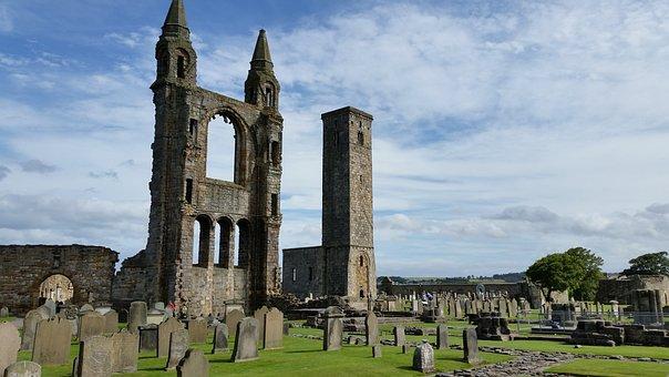 Castle, Scotland, Ruins, Scottish
