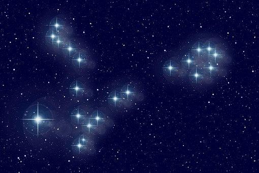 Fish, Star, Constellation, Universe, Sun, Space, All