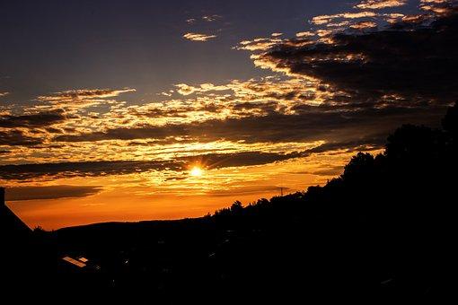 Morning Sun, Sunrise, Sun, Nature, Landscape, Mood