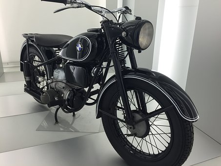 Two Wheeled Vehicle, Bmw, Technology, Motor, Oldtimer