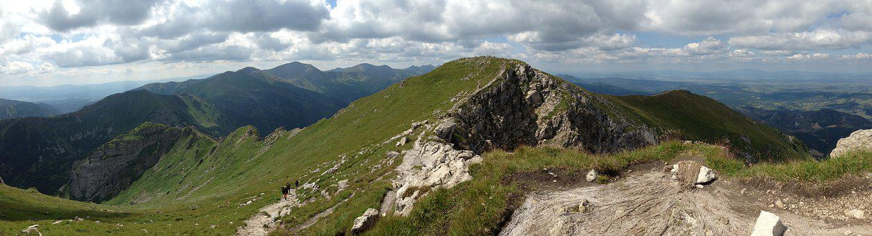Mountains, Tops, Landscape, Tatry, Nature