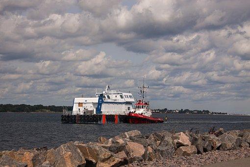 Towage, Towing, Boat, Fleet, Tug-boat, Ocean