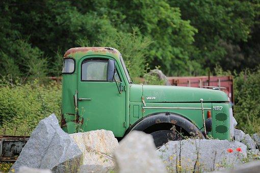 Oldtimer, Truck, Vehicle, Transport, Traffic