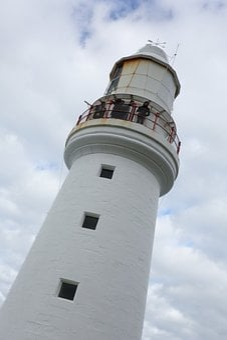 Lighthouse, Tower, Coast, Ocean, Travel, Building