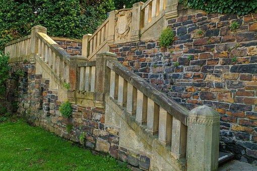 Stairs, Villa, Bad Godesberg, Architecture, Emergence