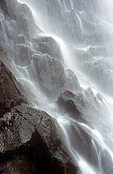 Waterfall, Scotland, Glen Coe, Water, Nature, River