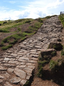 Way, The Stones, Tourism, Hill, The Path, Trail
